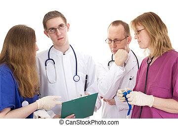 médico, gente