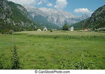 Theth, Prokletije mountains, Albania