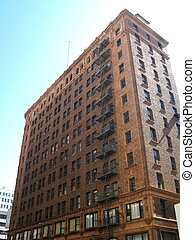 Red brick building - Red brick building