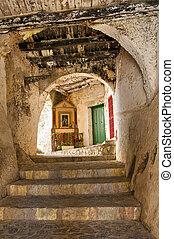 Alleyway Scalea Calabria Italy