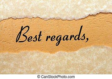 Best regards