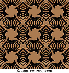 geometric art deco vintage pattern - geometric art deco...