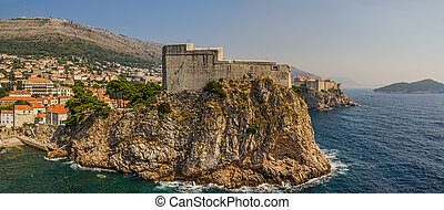 St. Lawrence fortress in Dubrovnik old town, Croatia