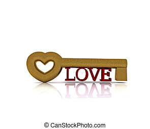 The key of love - 3D