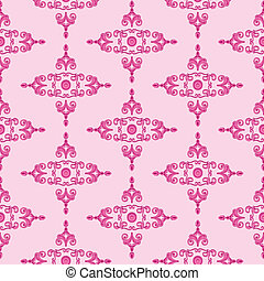 Textur_Historismus_pink - pink Texture patterns for...