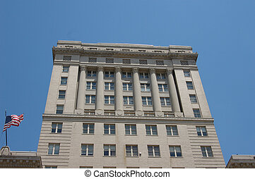 Government building - A large government building in...