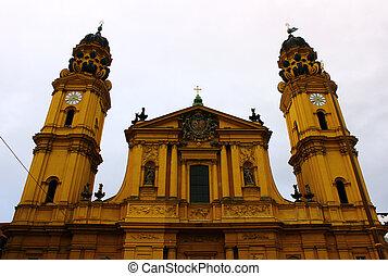 Theatiner KIrche, Munich, Germany