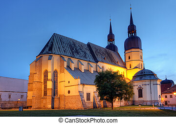 Saint Nicolas church in Trnava, Slovakia - Eastern Europe