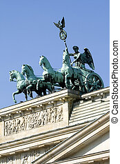 Quadriga Brandenburg Gate - View / visibility of the...