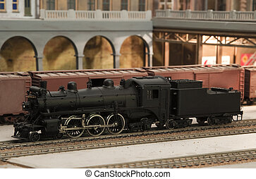 canadian pacific model train - miniature canadian pacific...