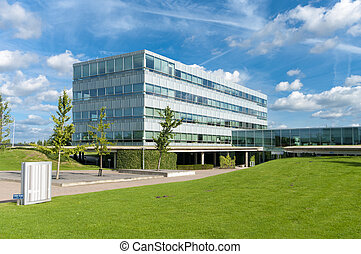 modern office building - Modern office building in the...