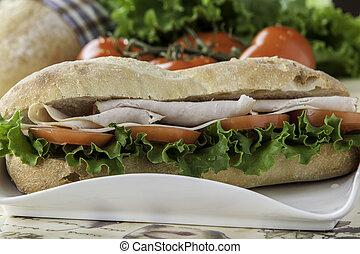 turkey sub sandwich