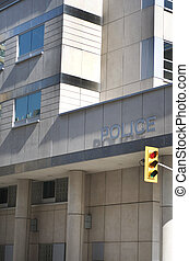 Modern Police Station - A modern looking Police Station,...