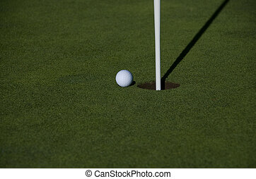 Close to the hole in one