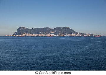 Gibraltar on a sunny day