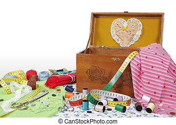 Sewing box - Objects and helpful own a sewing amateur for...