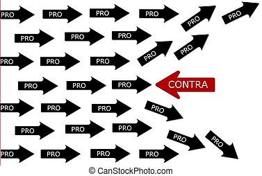 Pro and Contra conception - one have a different mind than...
