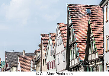 Blarer Square in Esslingen am Neckar, Germanny - Blarer...