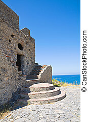 Talao tower Scalea Calabria Italy