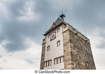 Pliensauturm tower in Esslingen am Neckar, Germany -...