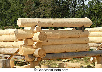 Log Home Construction