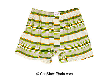 Underpants - Cheerful colors striped underpants of big size...