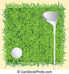 Background golf course