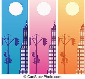 Vector a city