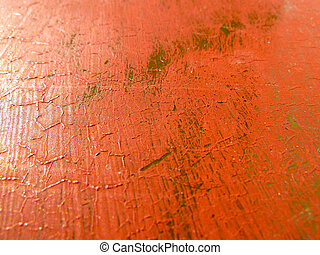 distressed paint surface as a background