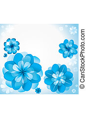 abstract background pattern from blue colors