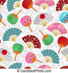 fans pattern