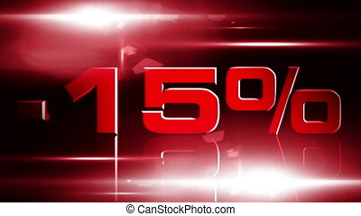 15 percent OFF 04 - 15 percent OFF discount animation