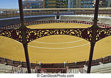 Ubeda's bullring in Spain - Bullring located at Ubeda,...