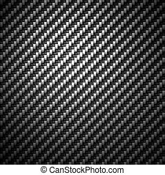Carbon Fiber Material Background - A super detailed carbon...