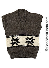 Waistcoat with pattern