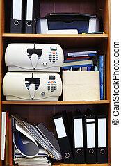 loose-leaf binders - The image of loose-leaf binders stand...