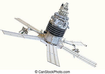spacecraft - The image of a spacecraft