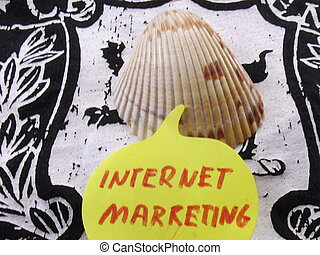 internet marketing - word intenet marketing on abstract...