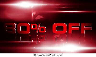 80 percent OFF 04 - 80 percent OFF discount animation