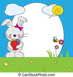 Easter Bunny Spring Framework