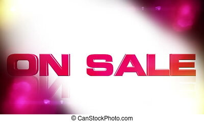 On Sale 01 - ON SALE discount animation