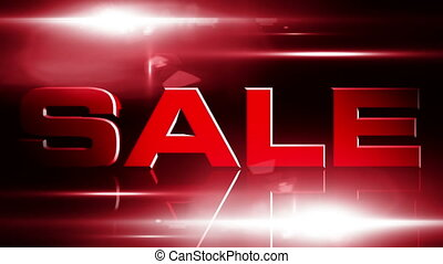 Sale 01 - SALE discount animation