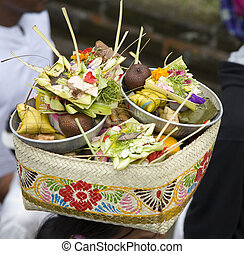 Balinese offering - Canang, a Balinese offering to the Gods