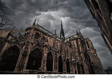 Notre Dame de Paris - Cathedral of Notre Dame in Paris