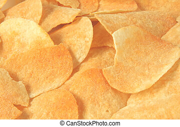 Potato Chips Barbeque Flavored