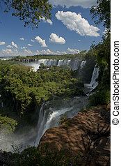 the Argentinian Side of the Iguazu Falls - the magnificent...
