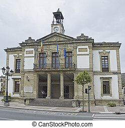 Cangas de Onis City-hall in Spain - Cangas de Onis City-hall...
