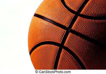 Basketball - A colligiate basketball ready for a game.