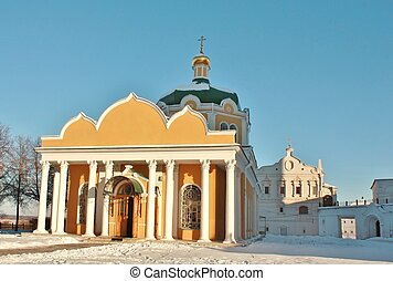 Facade of the ancient church