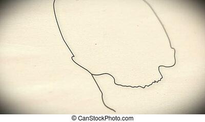 Human Skull v2 1 - Human Skull structure animation...
